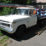 1976 Ford F350 stake body truck