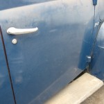 1949 Ford Panel Truck Right Door Exterior
