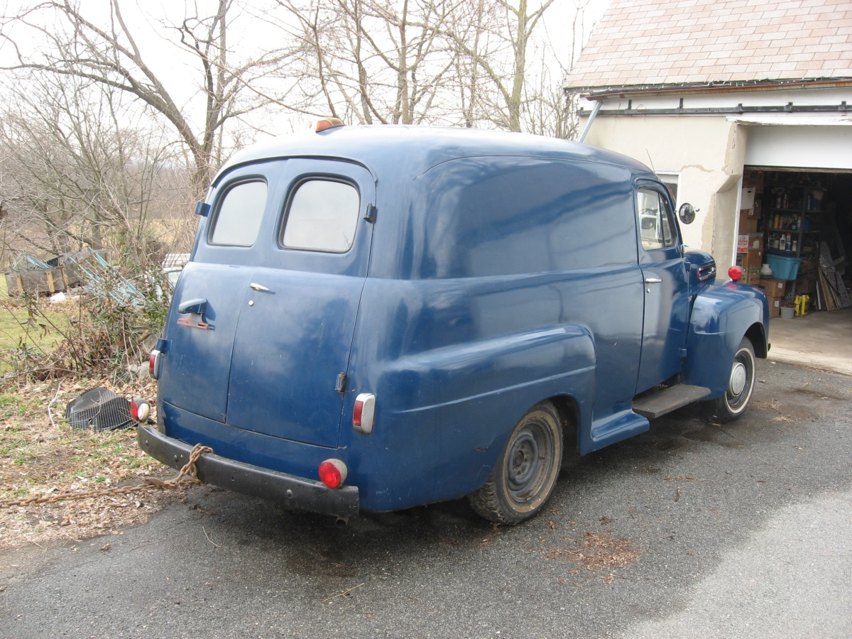 For Sale 1949 Ford Panel Truck