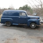 1949 Ford Panel Truck Right Side Exterior