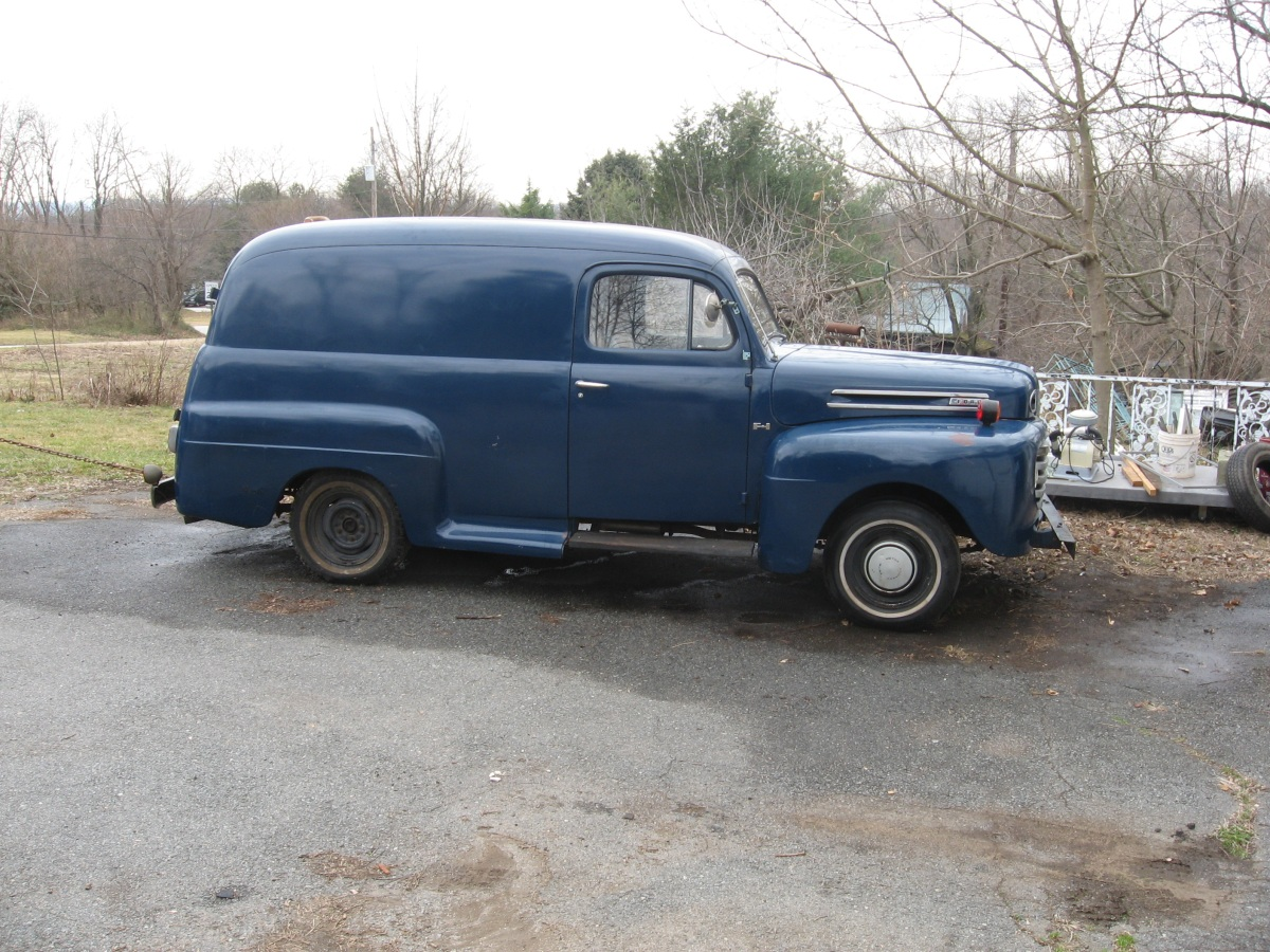 for sale 1949 ford panel truck. Black Bedroom Furniture Sets. Home Design Ideas