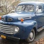1949 Ford Panel Truck Front Side