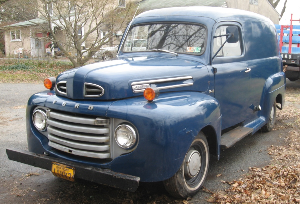 For Sale 1949 Ford Panel Truck Touch Of Technology Autos