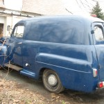 1949 Ford Panel Truck Left Side Exterior