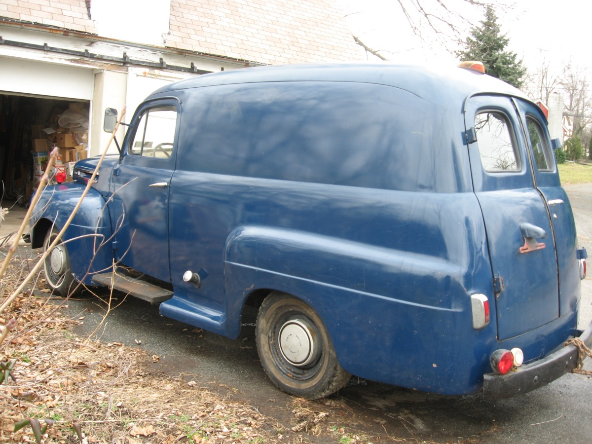1949 Ford F 6 Coe Truck For Sale Panel Left Side Exterior