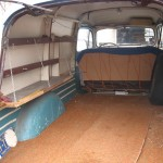 1949 Ford Panel Truck interior cargo