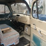1949 Ford Panel Truck Interior Right Side
