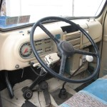 1949 Ford Panel Truck Interior